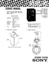 Buy Sony SS-H2750- Service Manual. by download Mauritron #244809