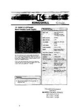 Buy KINGSHILL 50V2C PSU INS MTS A4011 by download #108804