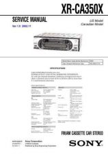 Buy Sony XR-CA330CA340.. Service Manual. by download Mauritron #246226