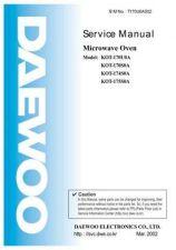 Buy Daewoo. T170U0A001(r). Manual by download Mauritron #213912