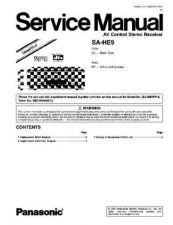 Buy Panasonic sapm29-sm-supl1 Service Manual by download Mauritron #268719