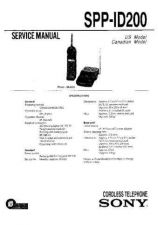Buy Sony SPP-ID300ID400 Service Manual. by download Mauritron #244436