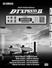 Buy Yamaha DTXPRESSIIF2 Operating Guide by download Mauritron #247646