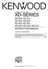 Buy Kenwood XD353 Operating Guide by download Mauritron #219888