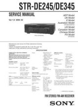 Buy Sony STR-DE497PK4800PK5800P Service Manual. by download Mauritron #245095