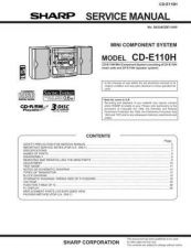 Buy Sharp CDE110H (1) Service Manual by download Mauritron #208599