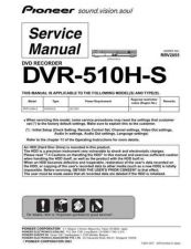 Buy Pioneer DVR541HS Service Manual by download Mauritron #234517