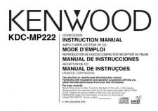 Buy Kenwood KDC-MP225 Operating Guide by download Mauritron #222001