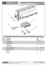 Buy Arnold No.149 Getreidetransport 3 Silo Wagen HN6016 Views etc by download Mauri