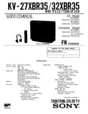 Buy Sony KV-32S20-32S25-34RS20C Service Manual. by download Mauritron #242305