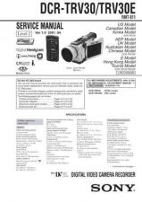 Buy Sony DCR-TRV30TRV30E Service Manual by download Mauritron #244183