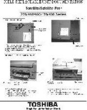 Buy TOSHIBA SAT & SAT PRO 220+440+460+470+480 SERIES SATELLITE & SATELLITE PRO by