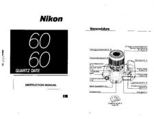 Buy NIKON N60 Instruction Manual by download Mauritron #266080
