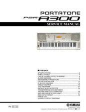 Buy Yamaha PSRB50 PCB1 E Manual by download Mauritron #259092