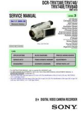 Buy Sony D-EJ855.. Service Manual by download Mauritron #240016