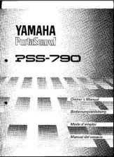 Buy Yamaha PSS790E Operating Guide by download Mauritron #249481