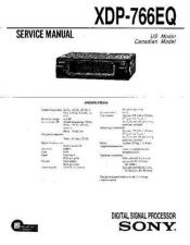 Buy Sony XDP-U50D Service Manual. by download Mauritron #245917