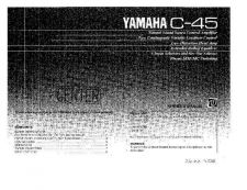 Buy Yamaha C20AE Operating Guide by download Mauritron #246892