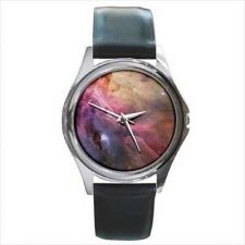 Buy Orion Nebula Outer Space Round Wrist Watch