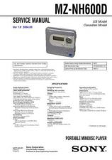 Buy Sony MZ-RH10 Service Manual. by download Mauritron #243200