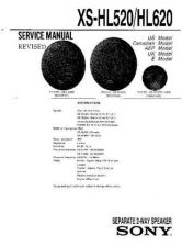 Buy Sony XS-HL520-HL620 Service Manual by download Mauritron #233536