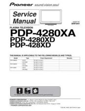 Buy Pioneer PDP-428XD (2) Service Manual by download Mauritron #234825