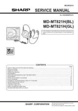 Buy Sharp MDMT821H Service Manual by download Mauritron #210064