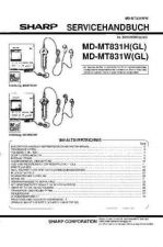 Buy Sharp MDMT831H-W SM DE Service Manual by download Mauritron #210067