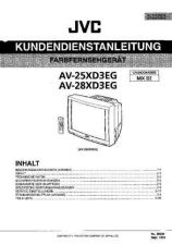 Buy JVC AV-25XD3EG- by download #101328