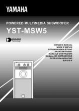 Buy Yamaha YST-MSW5 Operating Guide by download Mauritron #250409