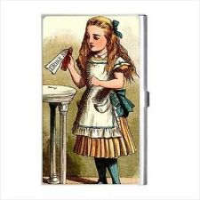 Buy Alice In Wonderland Drink Me Color Business Credit Card Case Holder