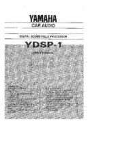 Buy Yamaha YDSP-1 Operating Guide by download Mauritron #250325