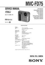 Buy Sony MVC-FD85FD90 Technical Information by download Mauritron #235787