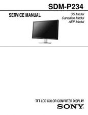 Buy Sony SDM-HS95P Technical Manual. by download Mauritron #243839
