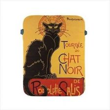 Buy Chat Noir Ipad 2 3 4 Cat Art Protective Soft Sleeve Case