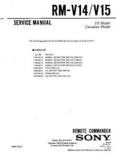 Buy Sony RM-S2020K Technical Manual. by download Mauritron #243651