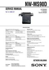 Buy Sony NW-MS90D Service Manual by download Mauritron #241845