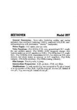 Buy BEETHOVEN B97 SERVICE by download #105426