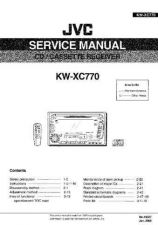 Buy JVC KW-XC770 Service Manual Schematic Circuit. by download Mauritron #271787