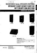 Buy Yamaha WF206 112 112F 115 115F 112M 112ML 215SB C Information Manual by download Maur