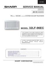 Buy Sharp 32LF96EC (1) Service Manual by download Mauritron #207733