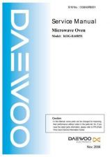 Buy Daewoo OG8A0R5001 Manual by download Mauritron #226255