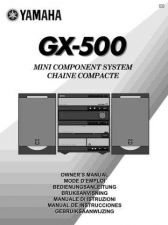 Buy Yamaha GX-500 Operating Guide by download Mauritron #248067