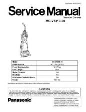 Buy Panasonic mcv7388 Service Manual by download Mauritron #267689