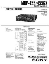 Buy Sony MDP-500 Service Manual. by download Mauritron #242438
