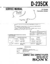 Buy Sony d-202a Service Manual by download Mauritron #239410