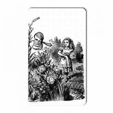 Buy Alice In Wonderland Flower Garden Art Vinyl Fridge Magnet