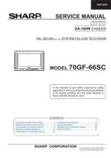 Buy Sharp 70GF66SC (1) Service Manual by download Mauritron #207938