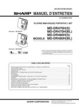 Buy Sharp MDDR470XX-DR480XX SM FR(1) Service Manual by download Mauritron #209989