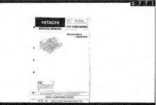 Buy Hitachi PCF-9Mech Manual by download Mauritron #225391